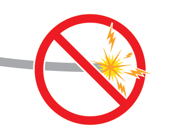 Downed wires don't necessarily spark