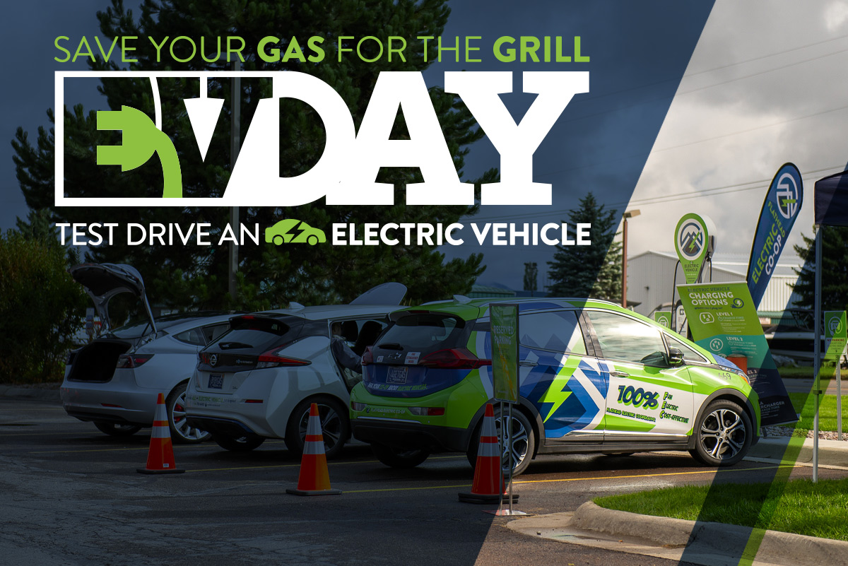 Save your gas for the grill EV Day Test drive an Electric Vehicle