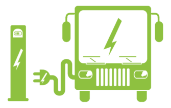 Potential benefits of electric buses studied.