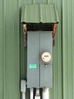 Protected meter