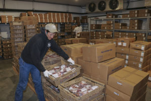 Lower Valley Processing freezer