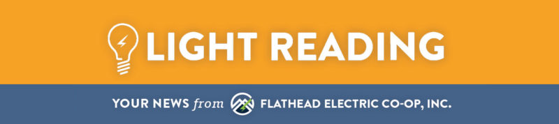Light Reading. Your news from Flathead Electric Cooperative