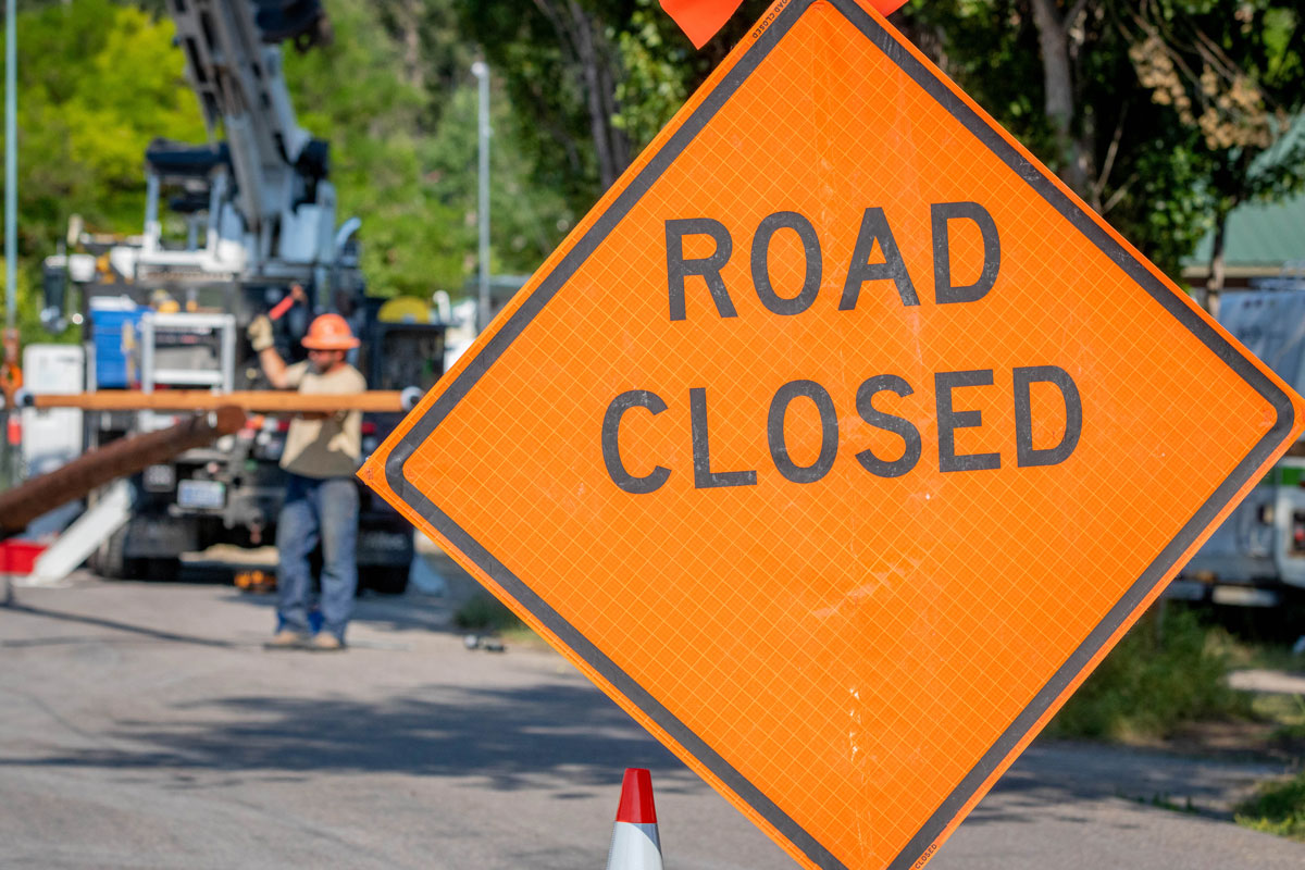 Road Closed - Outage