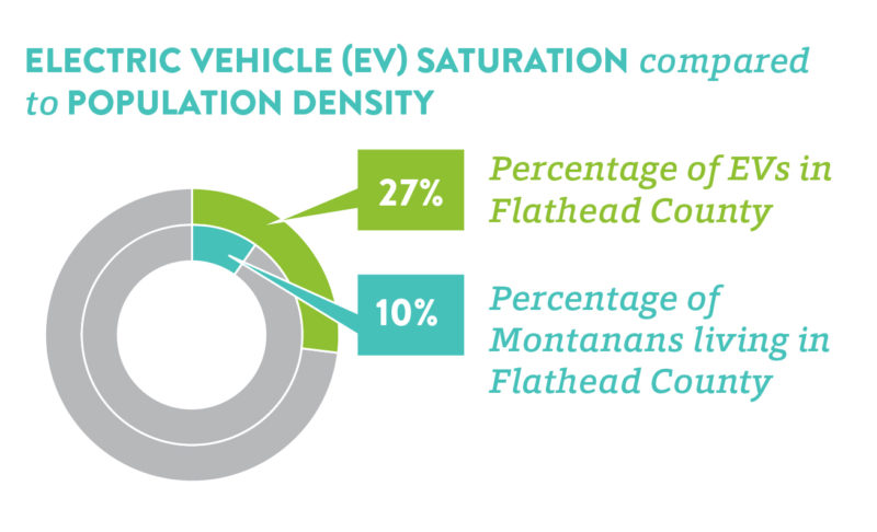 Percentage of EV registration