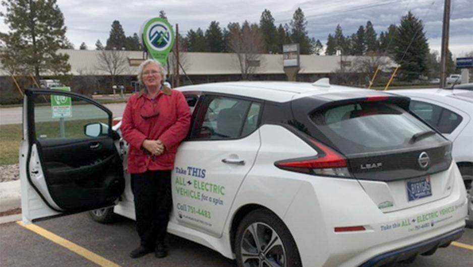 Sue Gemmell Drives FEC's Leaf